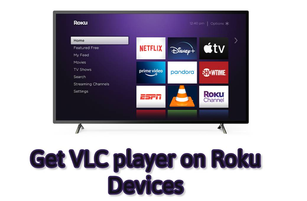 how to VLC for roku