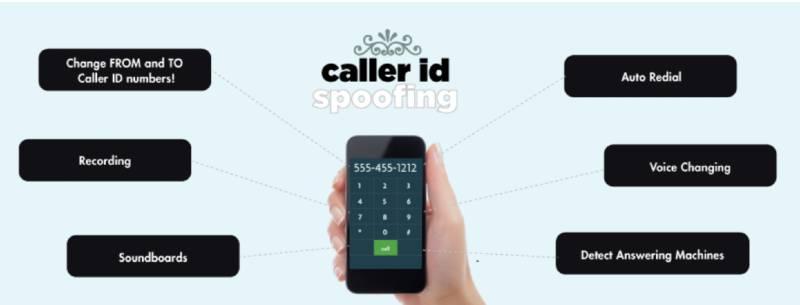 SpoofTel caller ID spoofing app