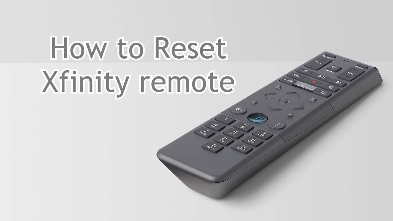 How to reset Xfinity remote